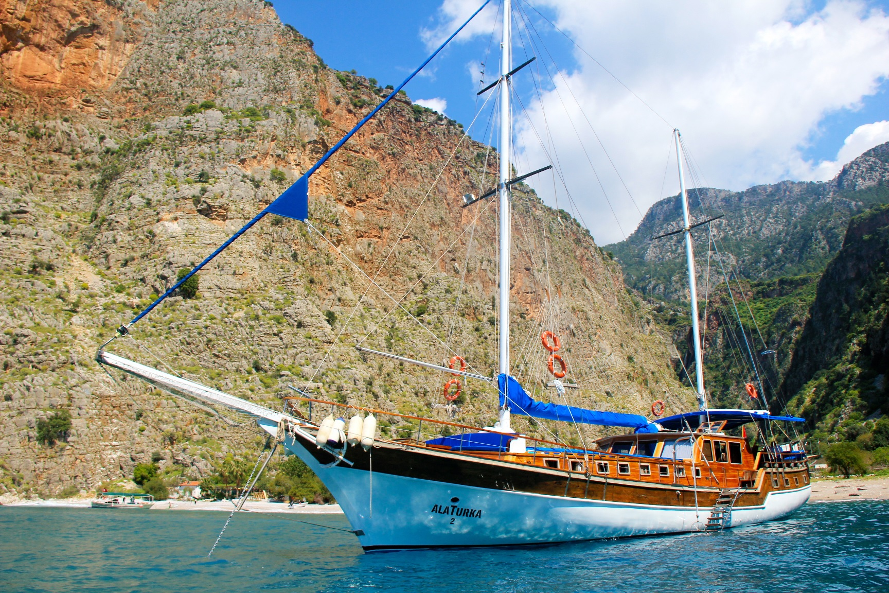 TURKISH SAILING TOPDECK
